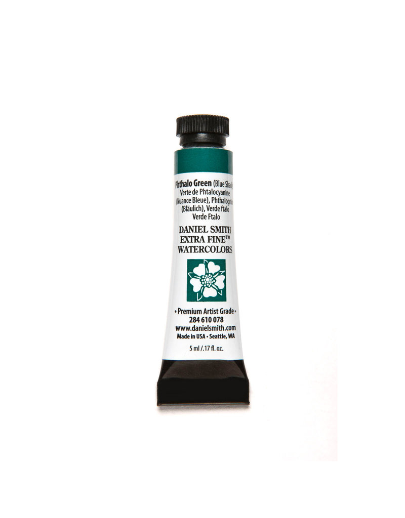 Daniel Smith Watercolor 5Ml Phthalo Green (Blue Shade)