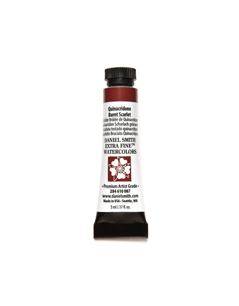 Daniel Smith Watercolor 5Ml Quinacridone Burnt Scarlet