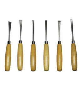 Excel Beginners 6 Piece Woodcarving Set