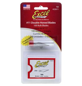 Excel Honed Blade #11 Double - 100 pcs.