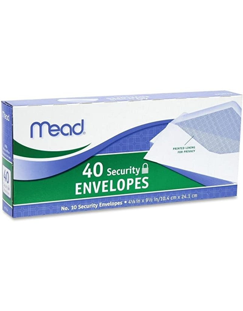 Mead Mead Envelopes 4 1/8 X 9 1/2