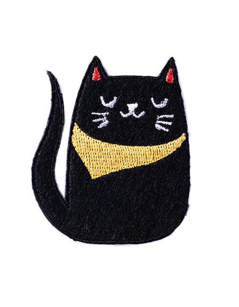 Badge Bomb Patch Bandana Cat