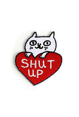 Badge Bomb Patch Shut Up Cat