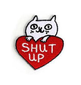 Badge Bomb Patch Shut Up Cat