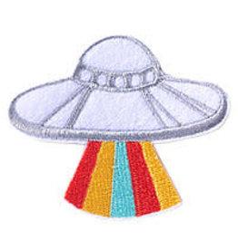 Badge Bomb Patch Ufo