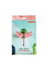 Studio Roof Wall Deco, Small, Pink Dragonfly