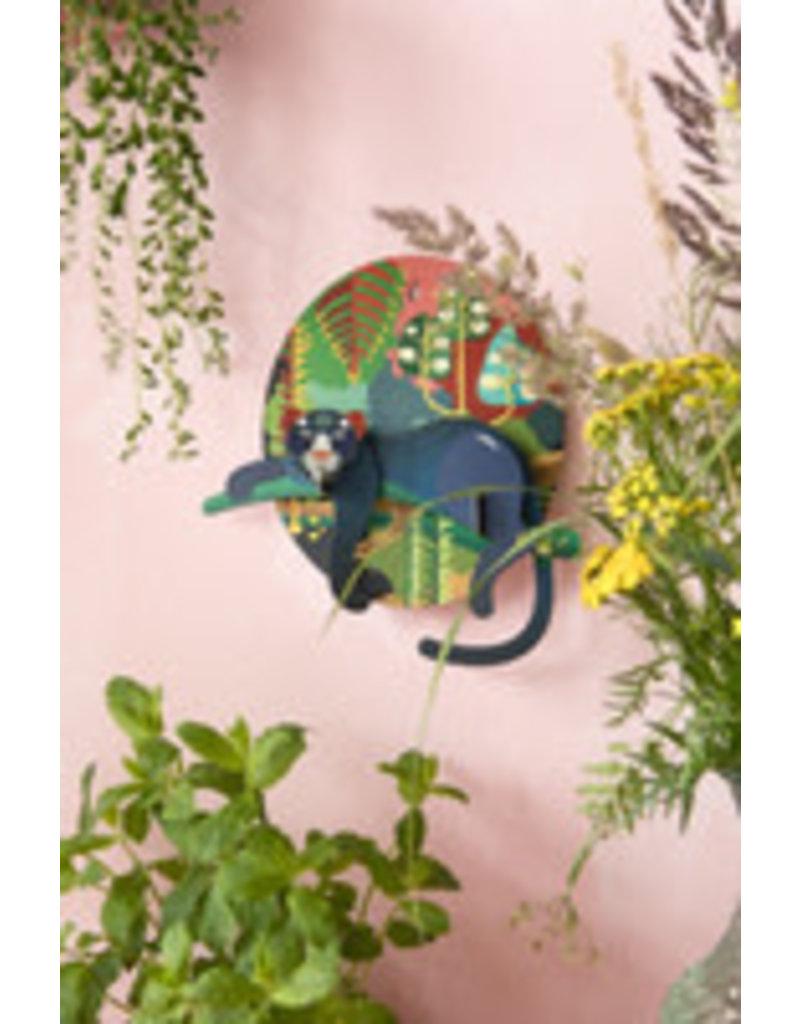 Studio Roof Wall Deco, Lrg, Jungle Puma