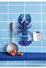 Studio Roof Wall Deco, Lrg, Blue Lobster