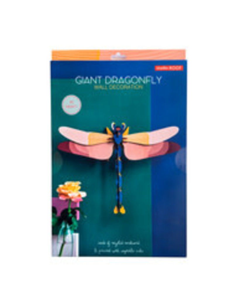 Studio Roof Wall Deco, Lrg, Giant Dragonfly