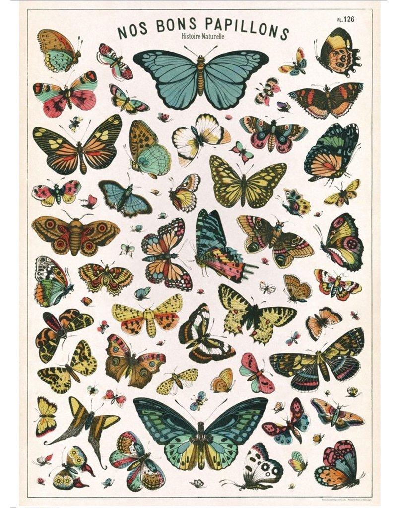 Cavallini Wrap Sheet Butterflies