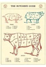 Cavallini Wrap Sheet The Butcher'S Guide