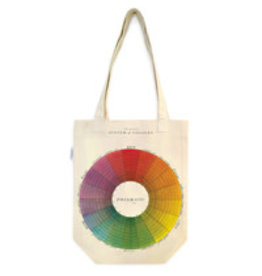 Cavallini Tote Bag Color Wheel