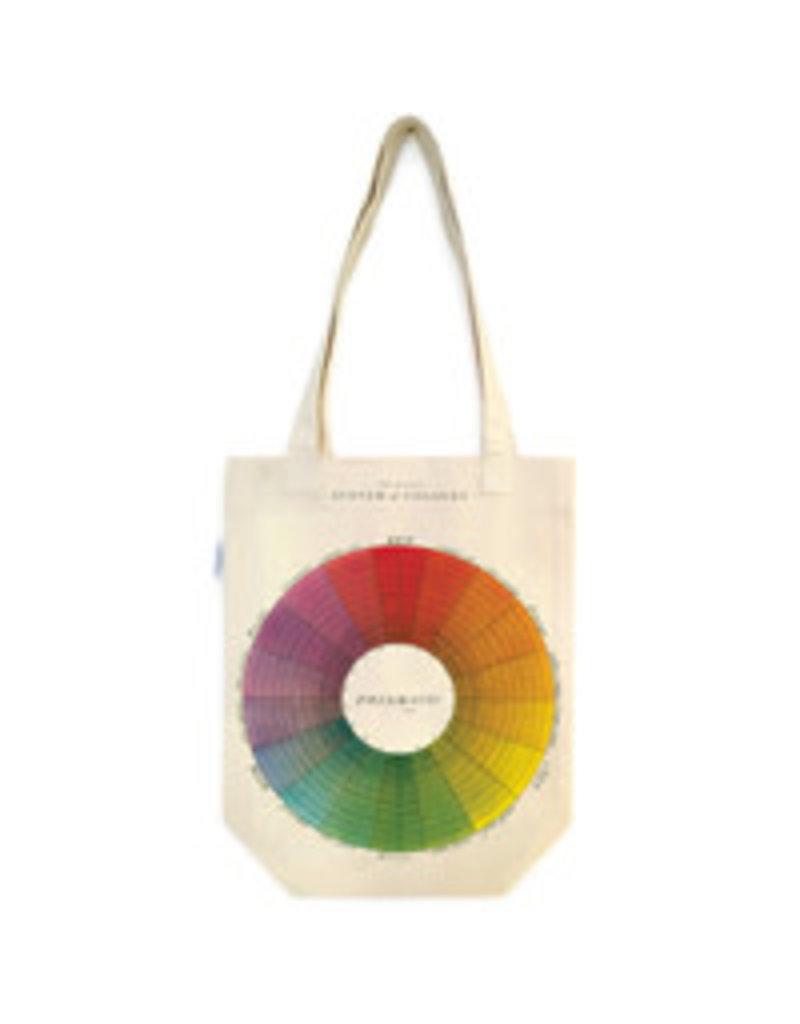Cavallini Tote Bag Color Wheel