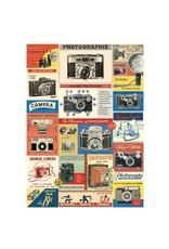 Cavallini Wrap Sheet Vintage Camera