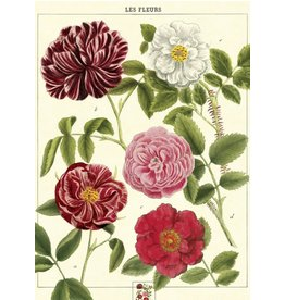 Cavallini Wrap Sheet Les Fleurs