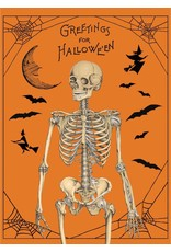 Cavallini Wrap Sheet Halloween Greetings
