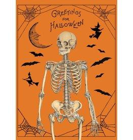 Cavallini Wrap Sheet Halloween Greetings
