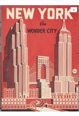 Cavallini Wrap Sheet New York Wonder City