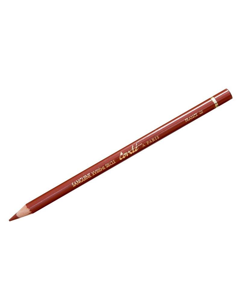 Conte Conte Sketch Ch Pencil Sang 18Th Cent