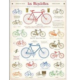Cavallini Wrap Sheet Bikes