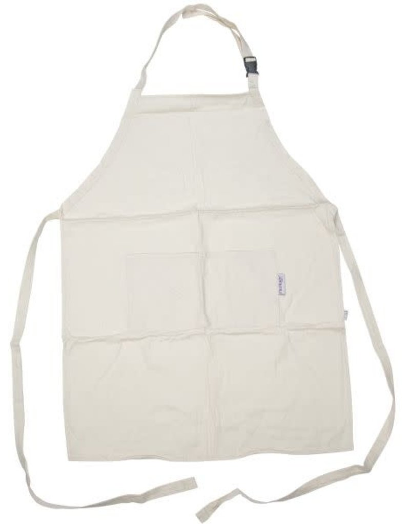 Heritage Arts Extra Large Adult Natural Canvas Artist Apron