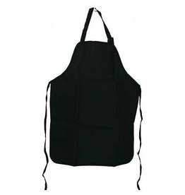 Tran Products Apron Basic Black Canvas