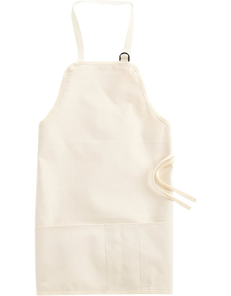 Tran Products Basic Apron Natural Canvas