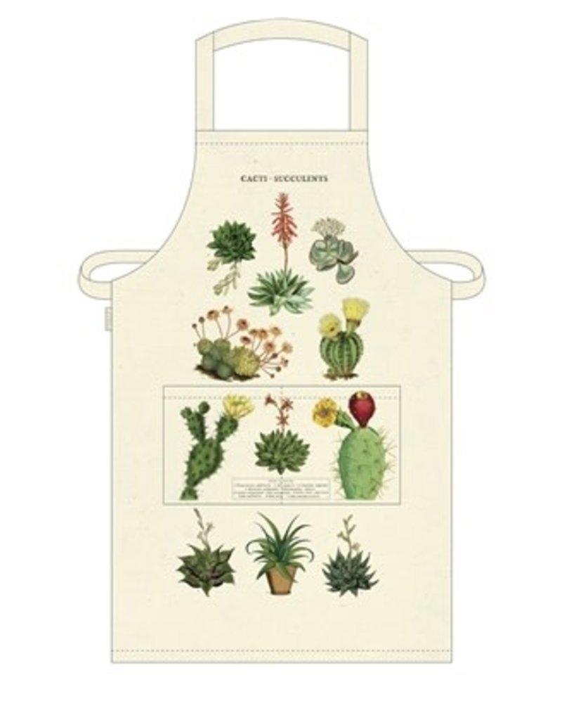 Cavallini Vintage Apron Cacti & Succulents
