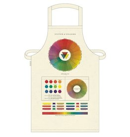 Cavallini Vintage Apron Color Wheel