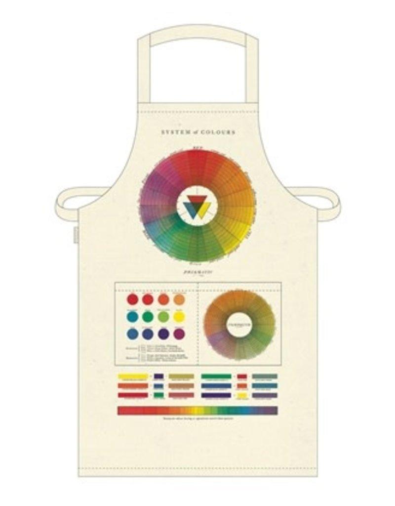 Cavallini Vintage Apron Color Wheel