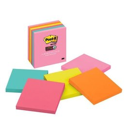 Scotch 3m Post-It Super Sticky Notes Asst 3X3In 6 Pack Capetown