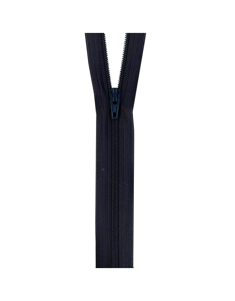 YKK Beulon Knit Zippers 18 In Black 100% Knitted Poly Tape