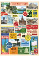 Cavallini Wrap Sheet Bellingham Collage