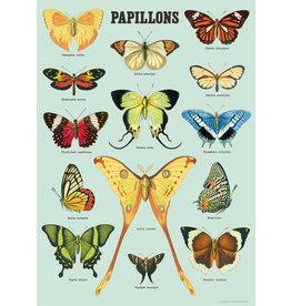 Cavallini Wrap Sheet Papillons