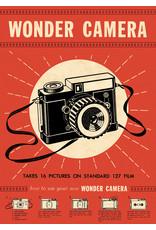 Cavallini Wrap Sheet Wonder Camera