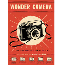 Cavallini Wrap Sheet Wonder Camera