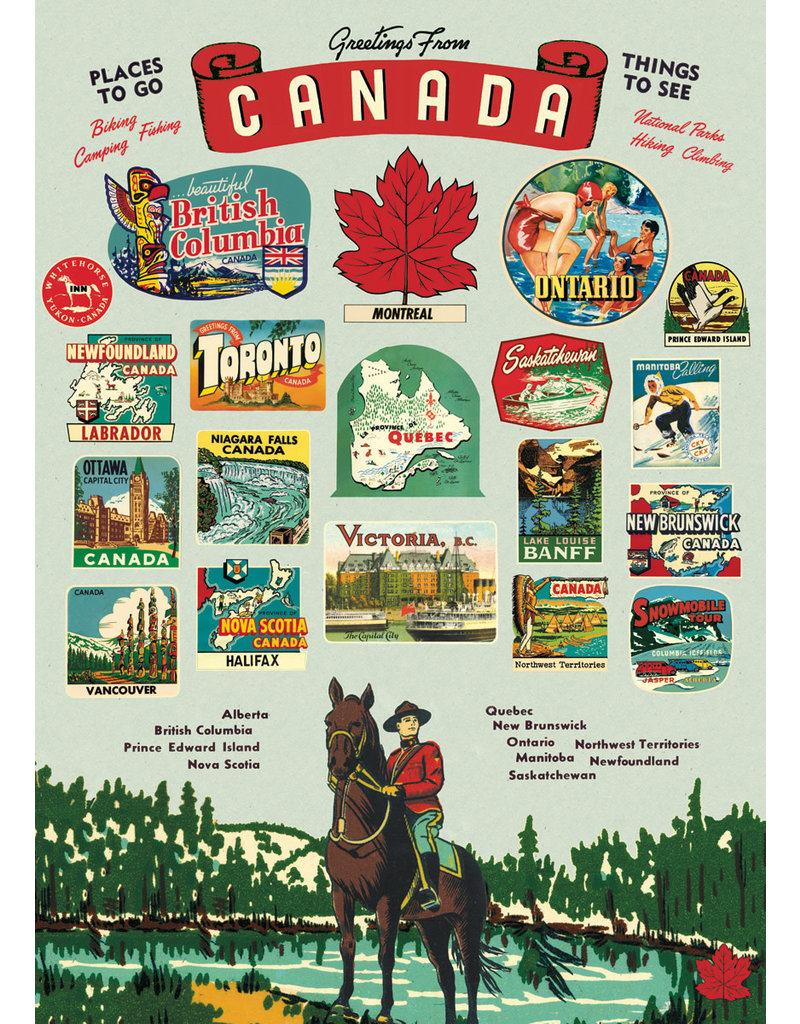 Cavallini Wrap Sheet Canada