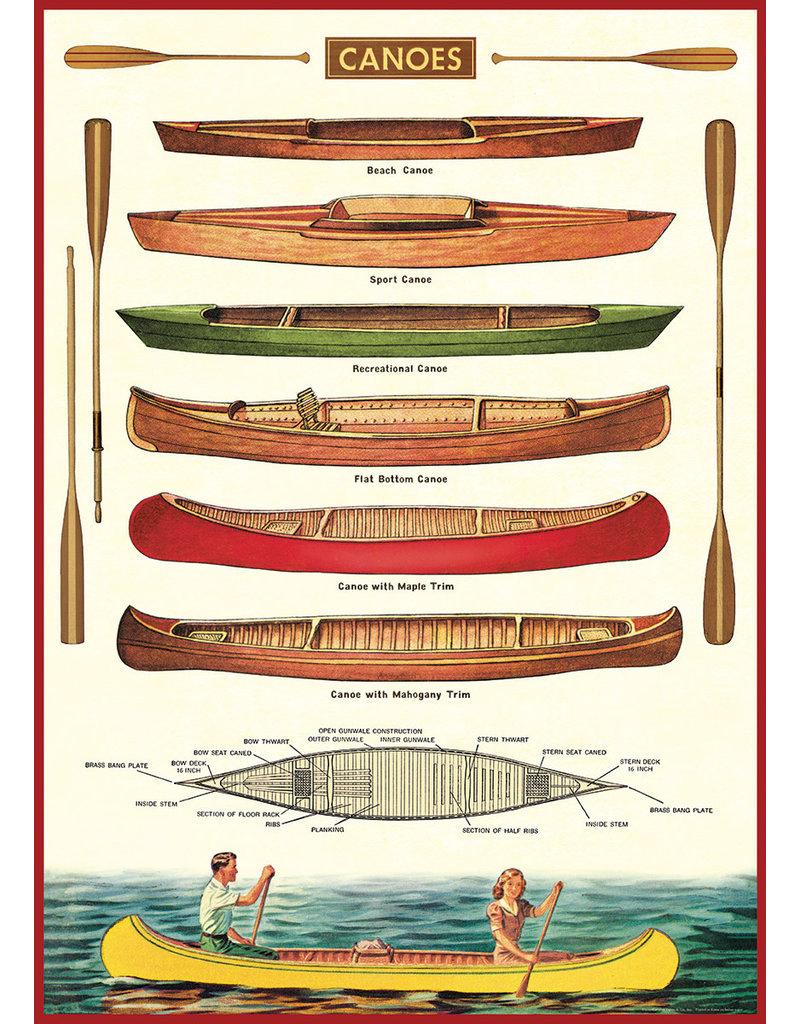 Cavallini Wrap Sheet Canoe