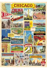 Cavallini Wrap Sheet Chicago Collage
