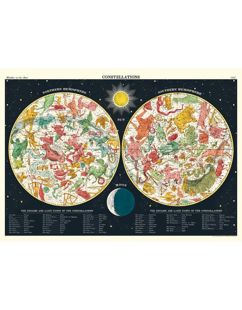 Cavallini Wrap Sheet Constellations 2