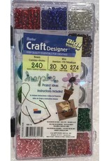 Darice WIRE 30YDS AND BEADS 240 GRAMS METALLIC
