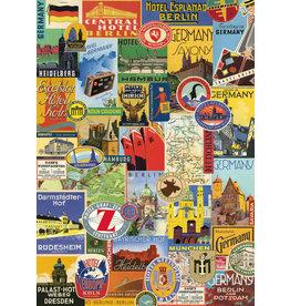 Cavallini Wrap Sheet Germany Collage