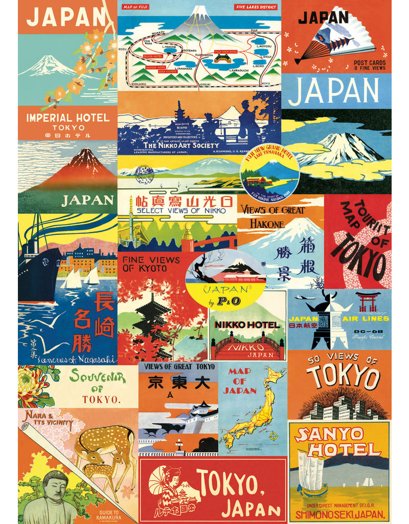Cavallini Wrap Sheet Japan