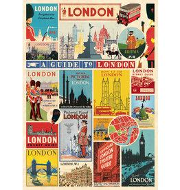 Cavallini Wrap Sheet London 3