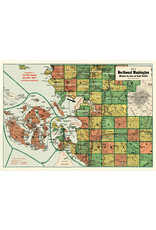 Cavallini Wrap Sheet Bellingham Map