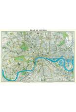 Cavallini Wrap Sheet London Map 2