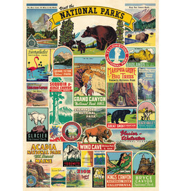 Cavallini Wrap Sheet National Parks