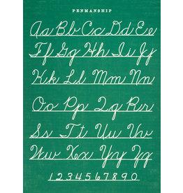 Cavallini Wrap Sheet Penmanship
