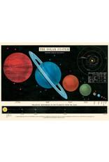 Cavallini Wrap Sheet Solar System