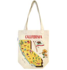 Cavallini Tote Bag California
